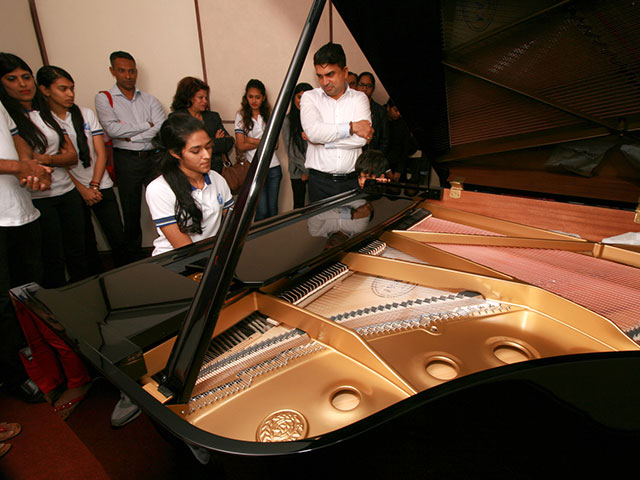 First Grand Piano